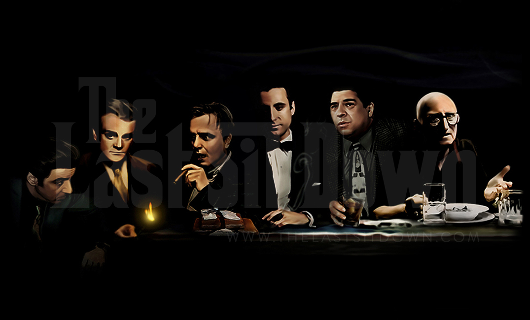 Mafia Gangster Sit Down Painting