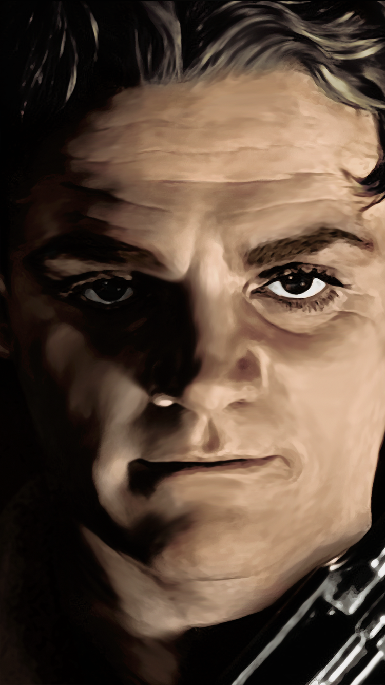 James Cagney Canvas Painting Poster