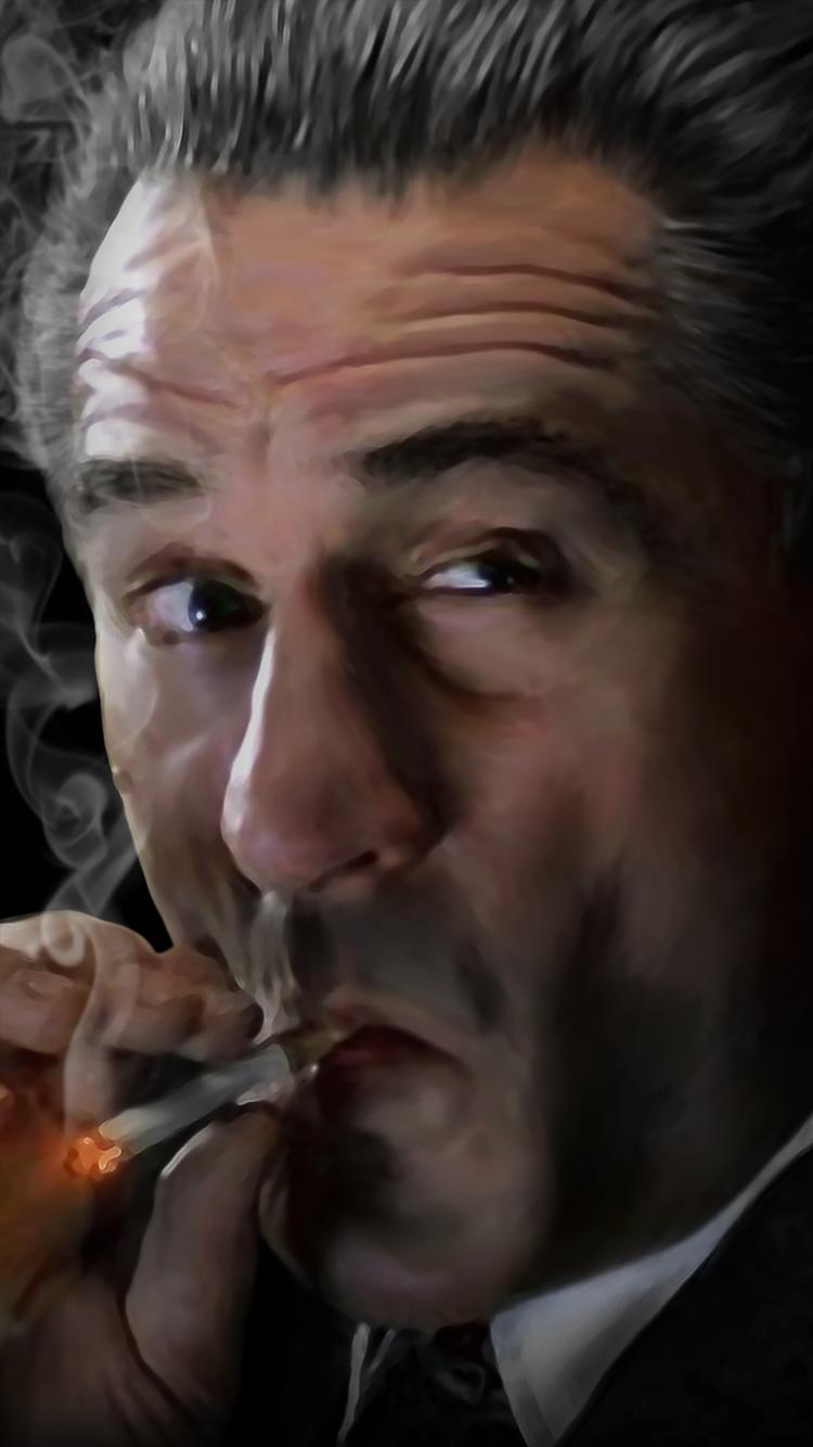 Robert De Niro Goodfellas Canvas Painting