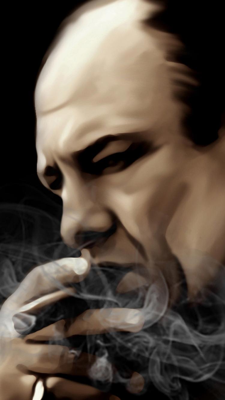 Tony Soprano Canvas Painting